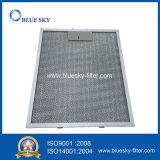 Recolocação de alumínio do filtro da graxa da capa da escala para o Al-Filtro 4857 de Klarstein