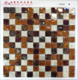 La fábrica del azulejo del cuarto de baño hace el mosaico de cristal