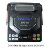 Encoladora caliente Tcw-605c de la fusión óptica de la fibra de Digitaces de la venta