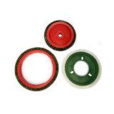 Cepillos industriales del disco de los cepillos que hacen punto con alta calidad