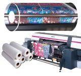 La larghezza di FM 90GSM 1.6m istante si asciuga Non-Arriccia la carta da trasporto termico di sublimazione del getto di inchiostro per poliestere o i rivestimenti Polyammid-Basati