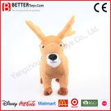 살아있는 것 같은 박제 동물 연약한 장난감 견면 벨벳 사슴
