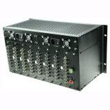 64のチャネルのビデオファイバーの光トランスミッタおよび受信機