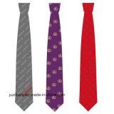 Atacado Jacquard Woven 100% Custom Made seda gravatas