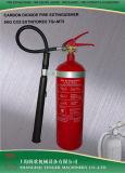 10lb, cilindro de aço da Extintor-Liga do incêndio do CO2 4.5kg, 34CrMo4