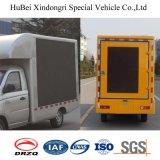Camion di pubblicità mobile della visualizzazione di LED del camion speciale di Euro4 Foton