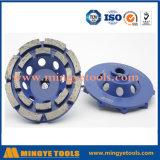 Колесо чашки алмазных резцов истирательное для меля камня и бетона