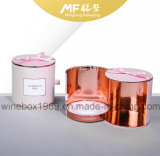 Lovely Leisure Paper Carton Cylindrique Cosmetic Gift Pink Box
