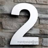 큰 현대 스테인리스 집 번호