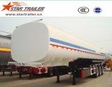 Трейлер топливозаправщика перехода топлива 3 Axles жидкостный
