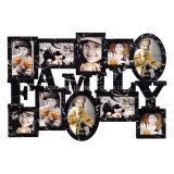 بلاستيكيّة متعدّد [أبنّينغ] بيتيّ زخرفة أسرة جدار صورة إطار
