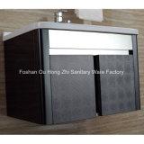 Черный шкаф тщеты ванной комнаты нержавеющей стали для дома