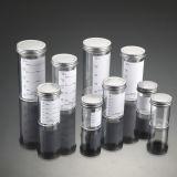 Registrado en la FDA y la CE aprobó Contenedores de muestra de 60 ml con tapa de metal y etiqueta impresa