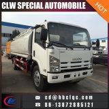 Fertigung Isuzu 8000L Kraftstoff-LKW-Tanker-Benzin-LKW-Träger