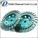 구체적인 공구 똑바른 다이아몬드 세그먼트 회전 숫돌 강철 알루미늄 컵