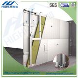 Hoja del cemento de la fibra, hoja de pared de la hoja de la tarjeta del cemento de la fibra de la celulosa de la pared interior