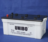 LKW-Batterie JIS StandardN200 12V200ah trocknen belastete Lead-Acid Autobatterie
