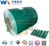 Feuillards ondulés d'usine de la Chine/acier enduit toiture de couleur