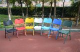 Colorful Easy Folding Chair Outdoor Chaise en plastique d'occasion
