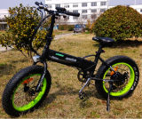 Цена Reseanable складывая электрический тучный Bike с батареей 36V спрятанной 10ah