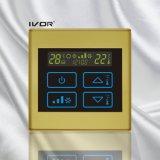 Thermostat-Noten-Schalter der Klimaanlagen-4-Pipe im Plastikrahmen (SK-AC2300T-4P)