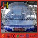 Aufblasbare Weihnachtsschnee-Kugel, aufblasbarer Luftblasen-Zelt-Ballon