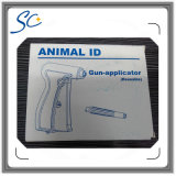 étiquette en verre animale d'identification d'IDENTIFICATION RF d'injection de 2.12*12mm pour la vache à bétail