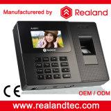 Realand biometrische Fingerabdruck-Zeit-Stempeluhren