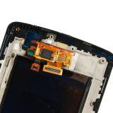 Parte di ricambio del nero dell'Assemblea di schermo del convertitore analogico/digitale di tocco della visualizzazione dell'affissione a cristalli liquidi per l'affissione a cristalli liquidi del LG G3 D850 D851 D855 Vs985