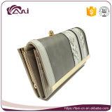 Disegno di modo del raccoglitore del blocco per grafici del metallo, OEM di cuoio del raccoglitore e della borsa dell'unità di elaborazione delle signore di Yong