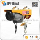 携帯用産業設備小型電気ワイヤーロープ起重機