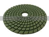 Тип сухая гибкая полируя пусковая площадка треугольника 5 шагов для естественного камня