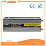 Inversor da potência solar de Suoer 12V 2000W com carregador (HBA-2000C)