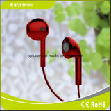 좋은 품질 이동 전화를 위한 빨간 Mircophone 이어폰