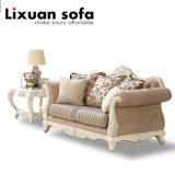 أثر قديم خشبيّة بناء أريكة [لوف ست] وكرسي تثبيت طاولة كلاسيكيّة أريكة محدّد كلاسيكيّة بيتيّة لأنّ يعيش غرفة