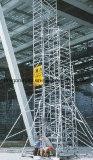 Andamio doble de aluminio de la escala de la subida de la anchura para la ingeniería