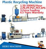 Отхода запитка бутылки PS пленки полиэтиленовых пакетов PP любимчика EPS отброса PE LDPE HDPE PVC цена машины Nylon пластичное рециркулируя