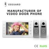 ホームセキュリティーはビデオドア7インチの戸口の呼び鈴の相互通信方式に電話をかける
