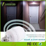 Bulbo 12W 20W do diodo emissor de luz do radar do movimento T80 do sensor