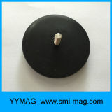 Professioneller starker Neodym-Potenziometer-Magnet mit Gummibeschichtung