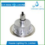 9W luz subacuática inoxidable de la piscina del acero IP68 LED