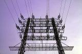 Сталь угла или стальные трубы электрической подстанции