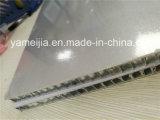 los paneles de aluminio gruesos del panal del gris de plata de 10m m