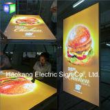 Panneaux publicitaires avec panneau lumineux LED Menu Board pour restaurant Affichage rapide