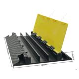 2017 cubierta plástica directa vendedora caliente del cable de la fábrica 3-Channel