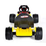 Elektrisch Reiten-auf Spielzeug Car- gelbes Fernsteuerungskart (zwei Batterie der Kinder des Motor zwei)