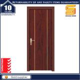 Porte en bois intérieure composée stratifiée par PVC en bois solide personnalisée