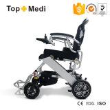 Topmedi ha andicappato la sedia a rotelle leggera pieghevole di energia elettrica