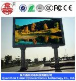 Tablilla de anuncios al aire libre de LED P10 del RGB, visualización de LED P10 al aire libre, haciendo publicidad de la visualización de LED/de la pantalla/del módulo