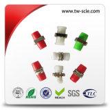 Singlemode Faser-Optiksimplexverbinder Sc-LC FC APC 0.9mm 2.0mm 3.0mm